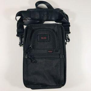 Tumi Alpha 2 Black Ballistic Crossbody Bag